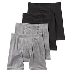 Boys Hanes Ultimate 4-Pack Boxer Briefs