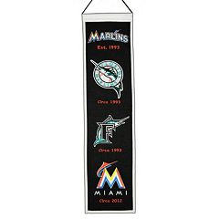Miami Marlins Heritage Banner