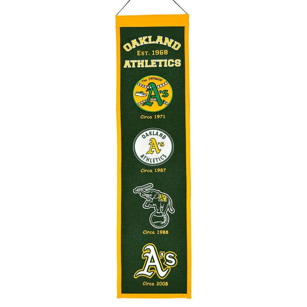 Oakland Athletics Heritage Banner