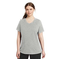 Plus Size Champion V-Neck Tee