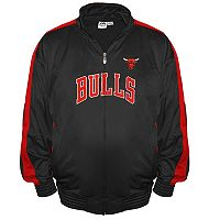 Big & Tall Majestic Chicago Bulls Tricot Jacket