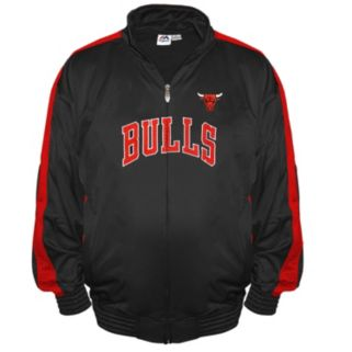 Big & Tall Majestic Chicago Bulls Tricot Jacket