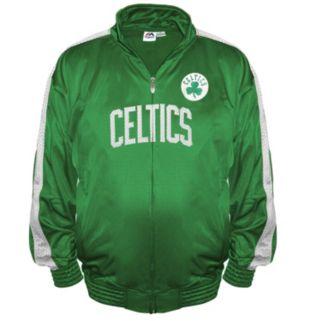 Big & Tall Majestic Boston Celtics Tricot Jacket