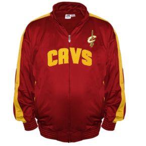 Big & Tall Majestic Cleveland Cavaliers Tricot Jacket