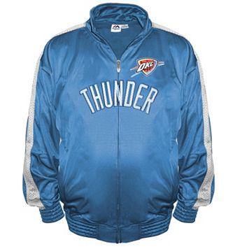 Big & Tall Majestic Oklahoma City Thunder Tricot Jacket