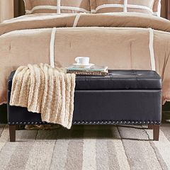 Madison Park Frances Storage Ottoman