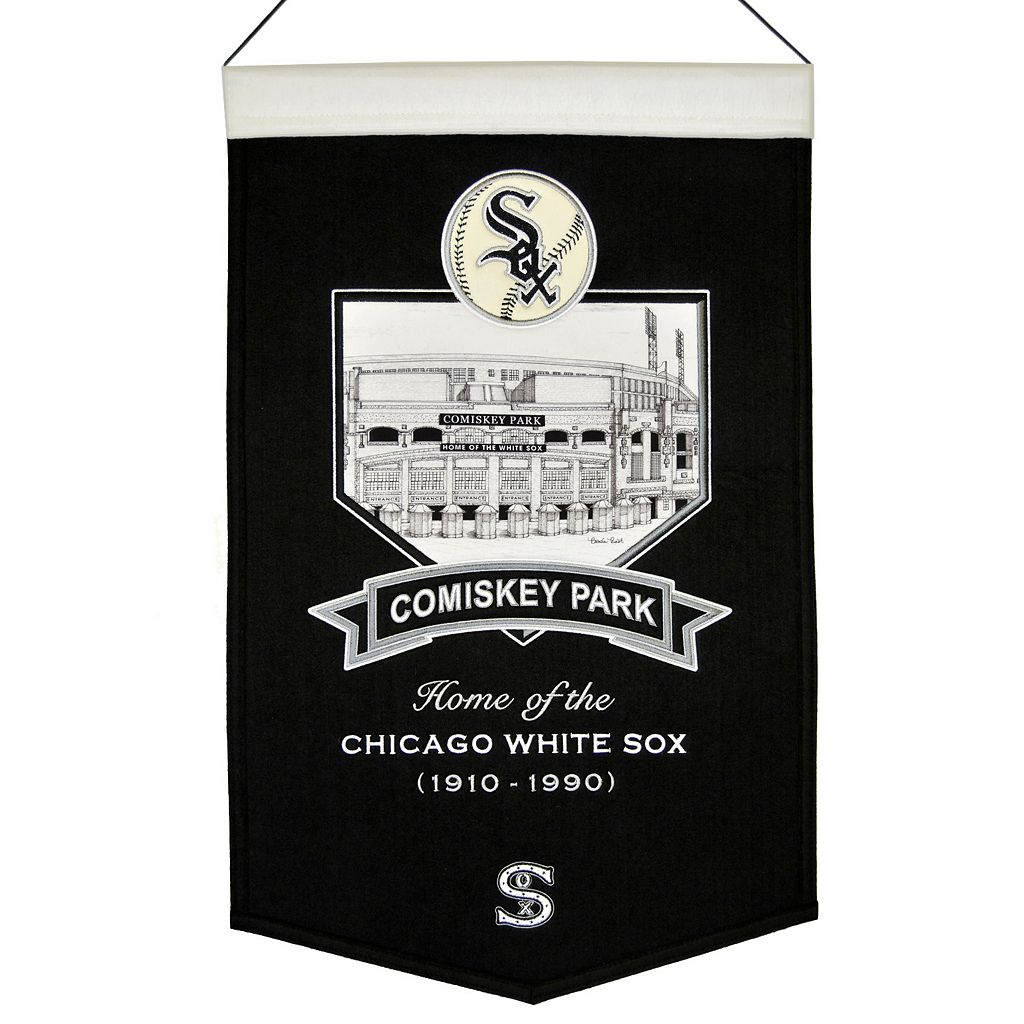 Chicago White Sox Comisky Park Banner