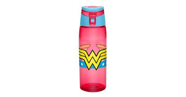 Water Bottle Youtube: DC Comics Wonder Woman Tritan Water Bottle By Zak Designs