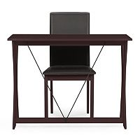 Baxton Studio Cary Writing Desk & Chair Set