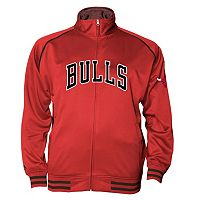 Big & Tall Majestic Chicago Bulls Fleece Track Jacket