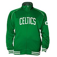 Big & Tall Majestic Boston Celtics Fleece Track Jacket