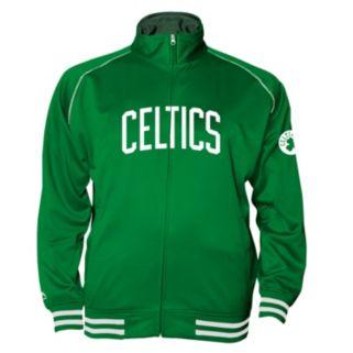 Big & Tall Majestic Boston Celtics Fleece Track Jacket
