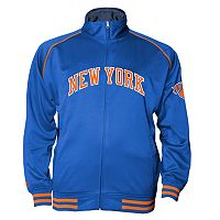 Big & Tall Majestic New York Knicks Fleece Track Jacket