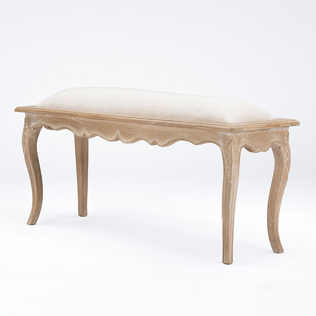Baxton Studio Beuvron Traditional French Console Bench