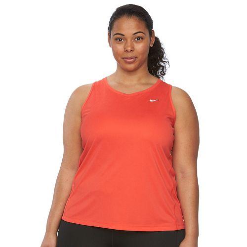 Plus Size Nike EXT Miler Dri-FIT Racerback Running Tank