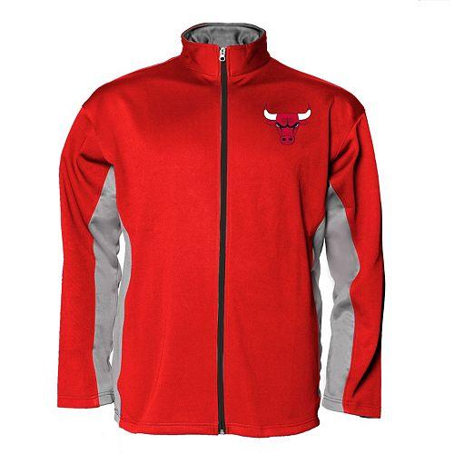 Big & Tall Majestic Chicago Bulls Fleece Jacket