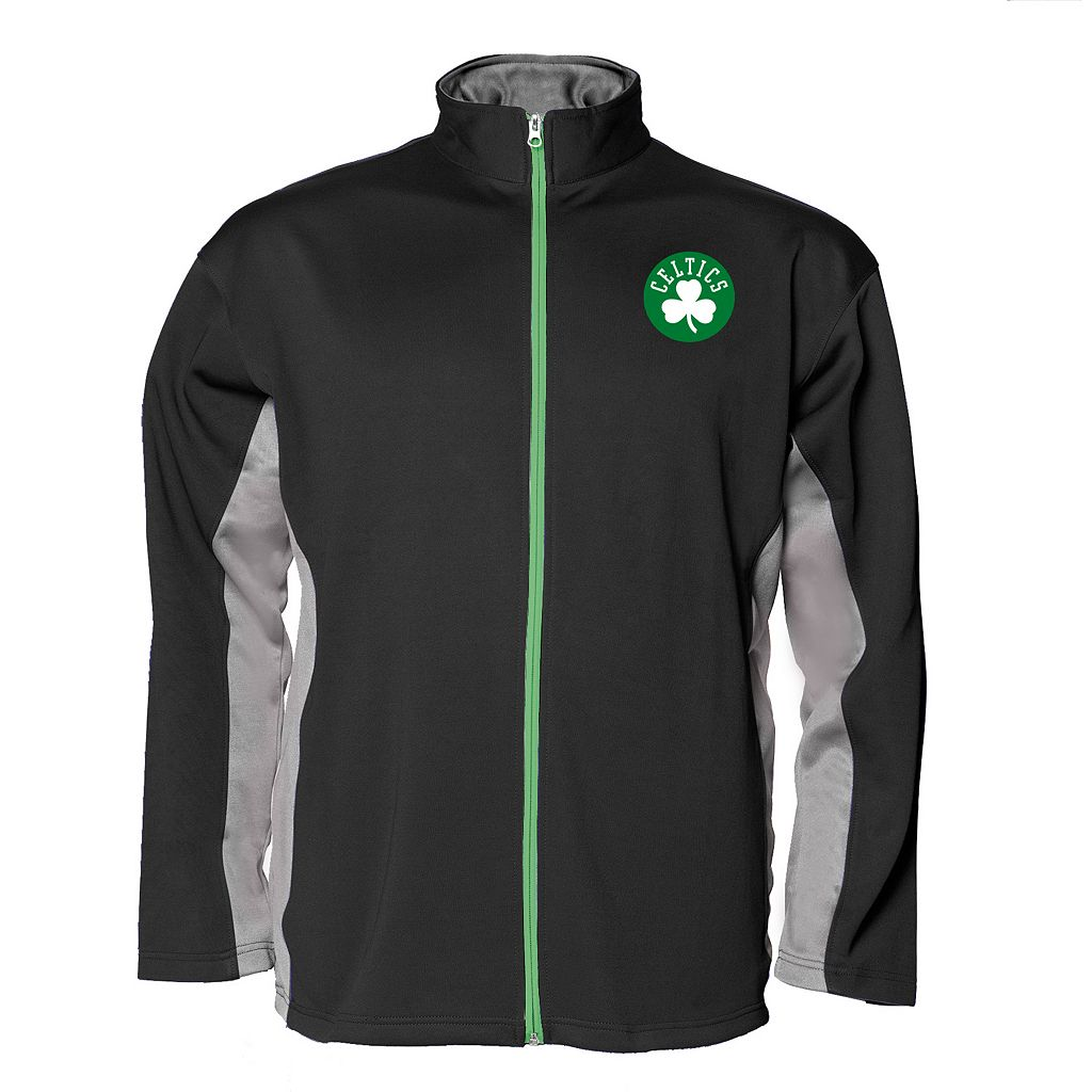Big & Tall Majestic Boston Celtics Fleece Jacket
