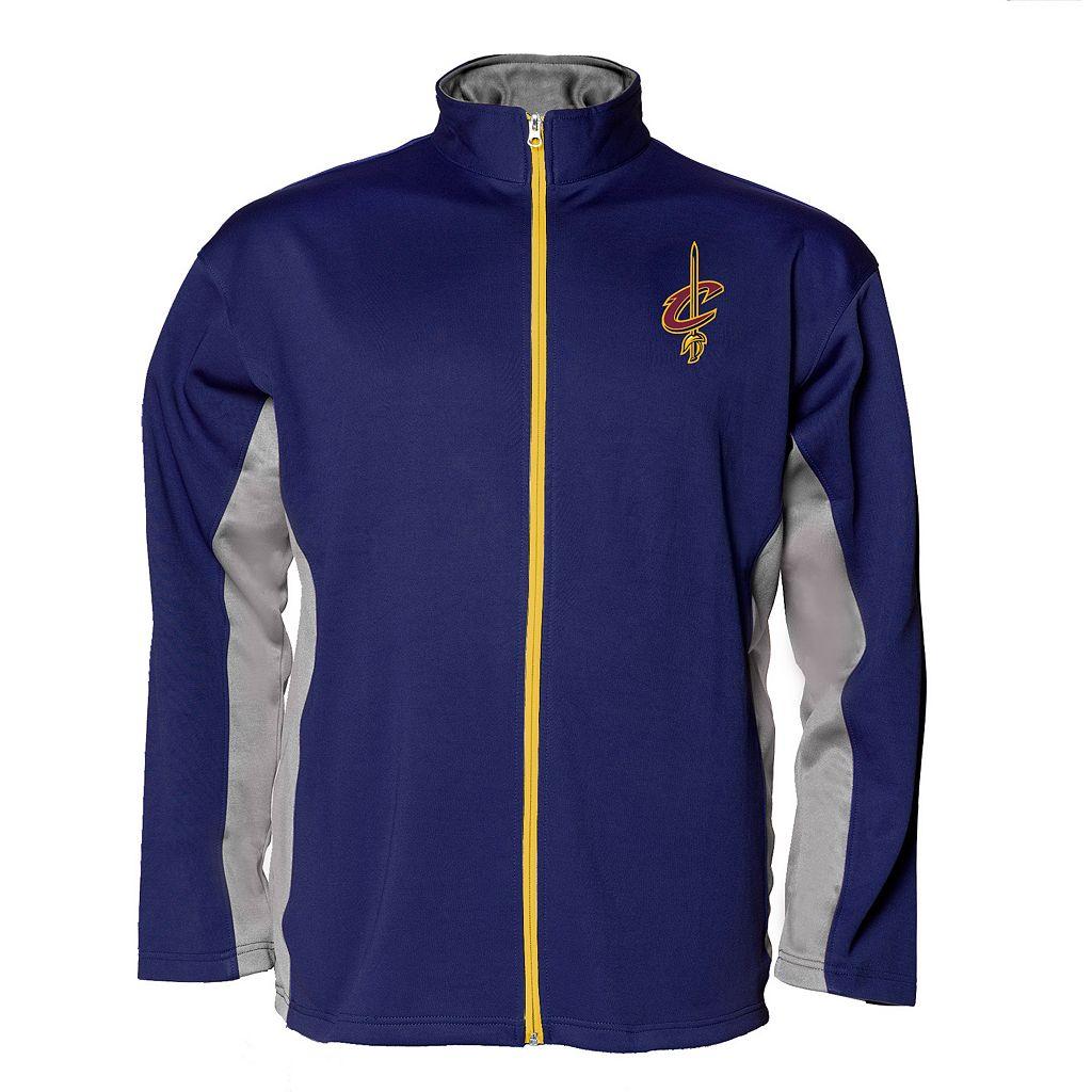 Big & Tall Majestic Cleveland Cavaliers Fleece Jacket