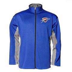 Big & Tall Majestic Oklahoma City Thunder Fleece Jacket