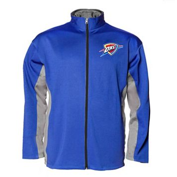 Big & Tall Majestic Oklahoma City Thunder Fleece Jacket