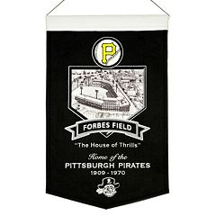 Pittsburgh Pirates Forbes Field Stadium Banner