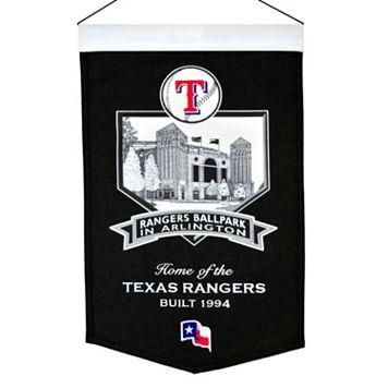 Texas Rangers Rangers Ballpark Stadium Banner