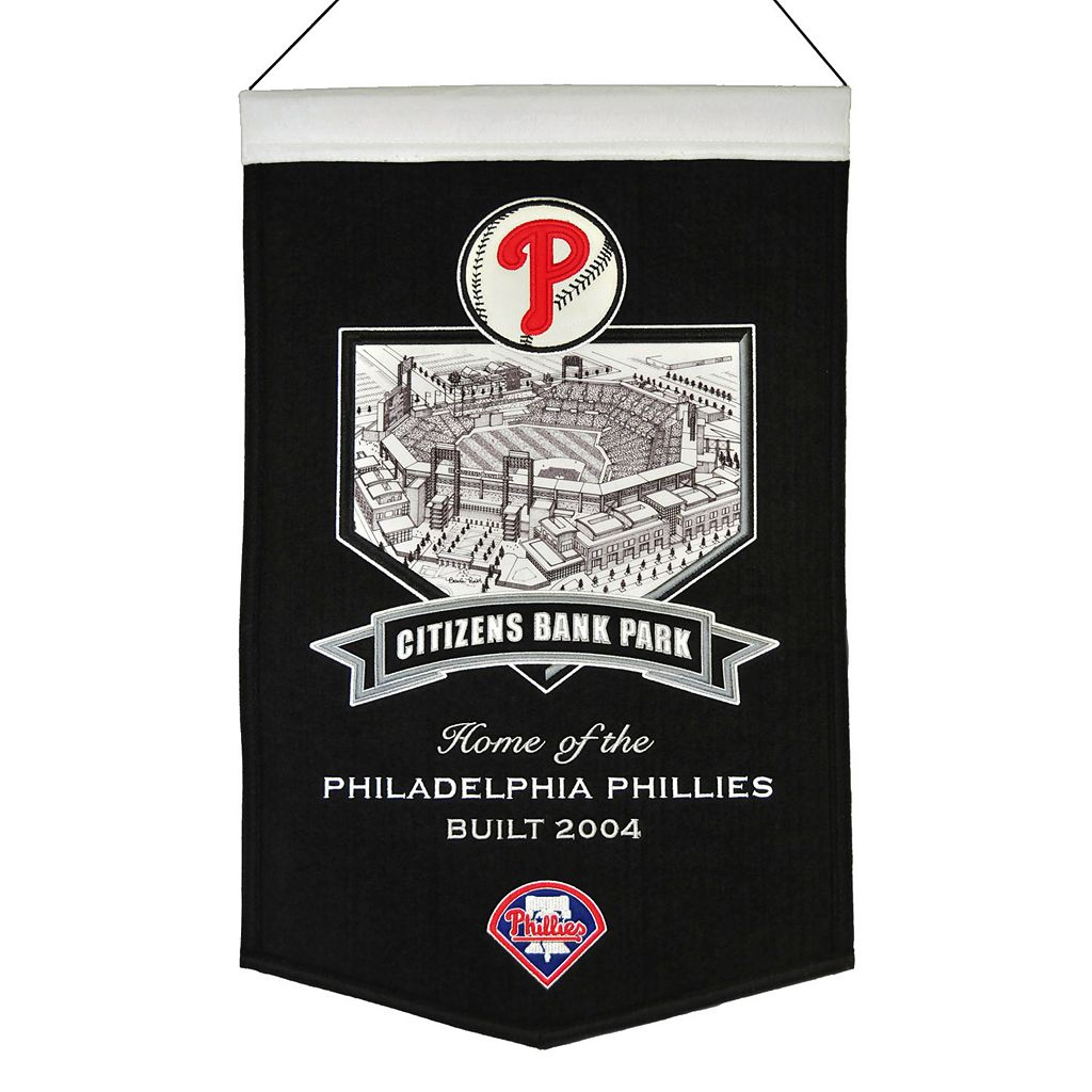 Philadelphia Phillies Citizens Bank Park Stadium Banner
