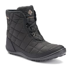 Columbia Crystal Shorty Lace Thermal Coil Women's Waterproof Winter Boots by