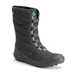 Columbia Crystal Mid Lace Thermal Coil Women's Waterproof Winter Boots by