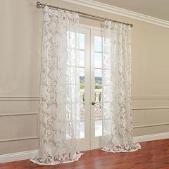 EFF 1-Panel Venus Sheer Window Curtain