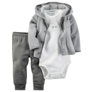 Baby Carter's Sheep Cardigan, Bodysuit & Pants Set