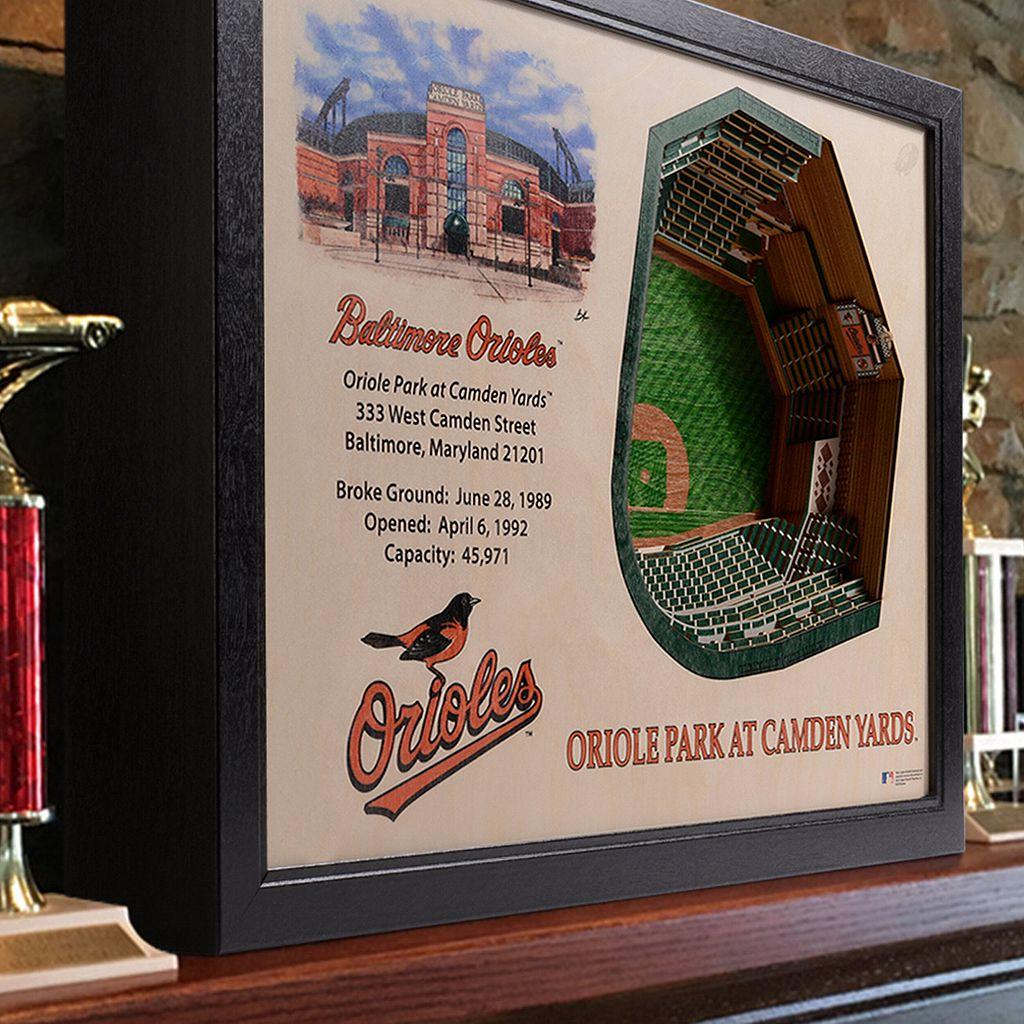 Baltimore Orioles StadiumViews 3D Wall Art