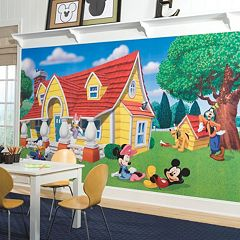 Disneys Mickey Mouse Friends Removable Wallpaper Mural