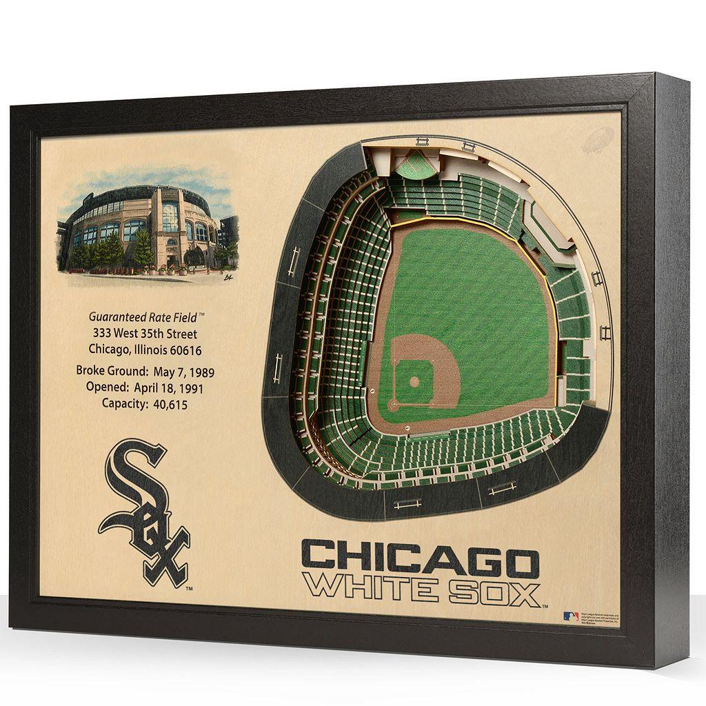 Chicago White Sox StadiumViews 3D Wall Art