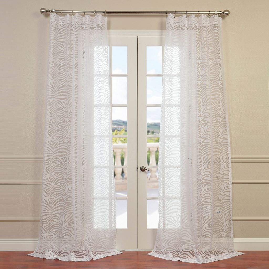 EFF Zara Sheer Curtain