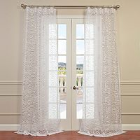 EFF Zara Sheer Window Curtain
