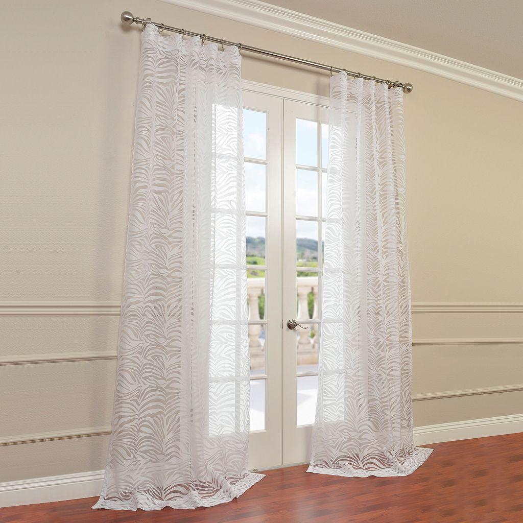 EFF Zara Sheer Window Curtain