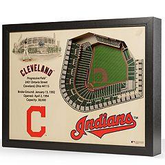 Cleveland Indians StadiumViews 3D Wall Art