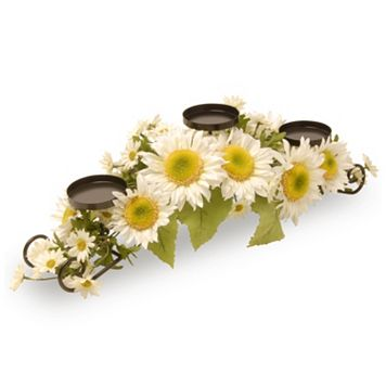National Tree Company Sunflower 3-Tier Candle Holder