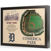 Detroit Tigers StadiumViews 3D Wall Art