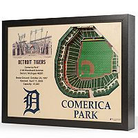 Detroit Tigers StadiumViews 3D Wall Art
