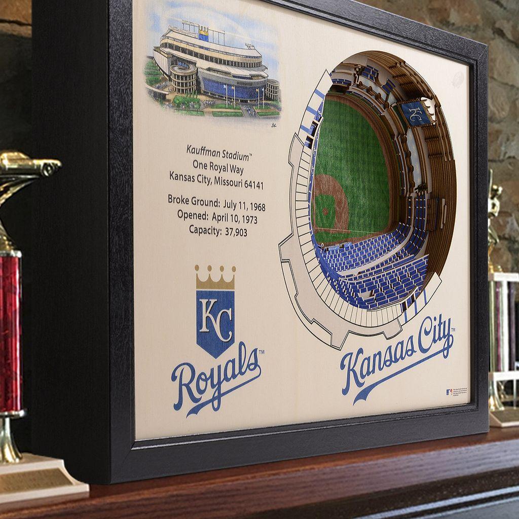 Kansas City Royals StadiumViews 3D Wall Art