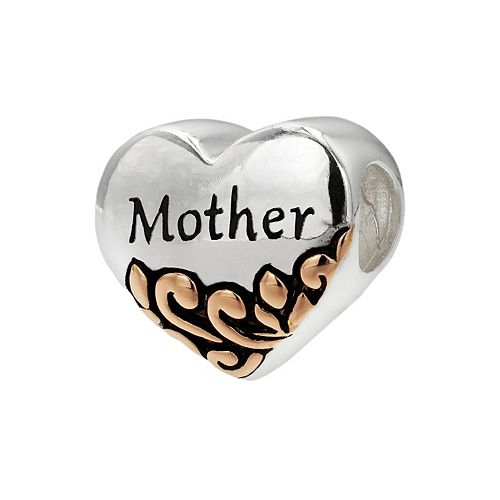 Individuality Beads Two Tone Sterling Silver
