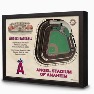 Los Angeles Angels of Anaheim StadiumViews 3D Wall Art
