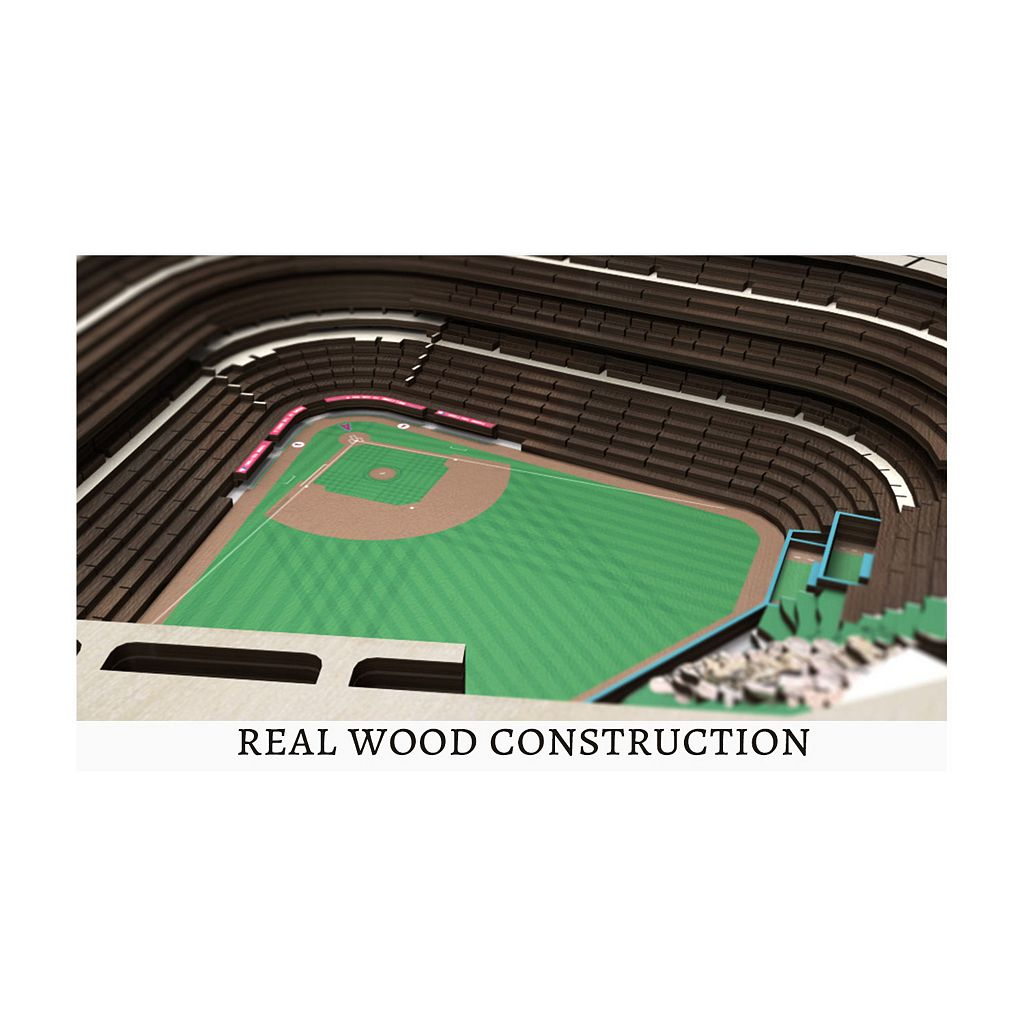 Los Angeles Angels of Anaheim StadiumViews 3D Wall Art