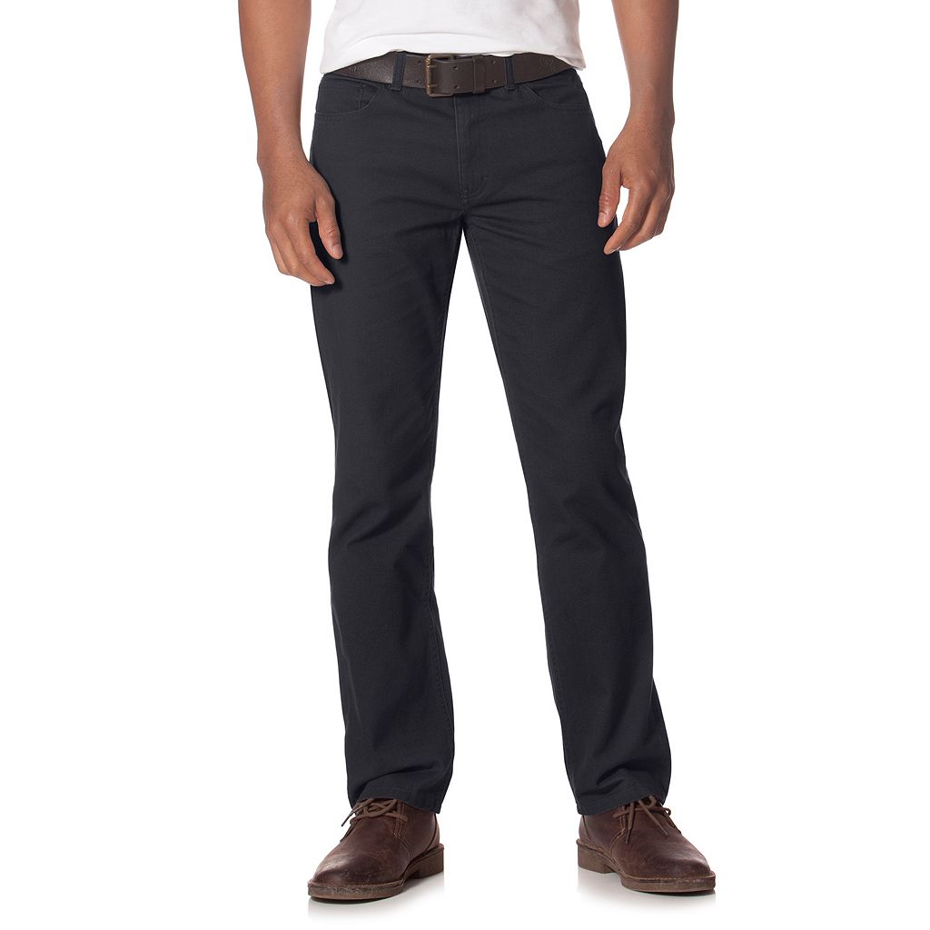 Men's Chaps Classic-Fit 5-Pocket Stretch Twill Pants