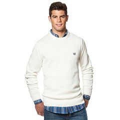 Mens White Crewneck Sweaters - Tops, Clothing   Kohl's