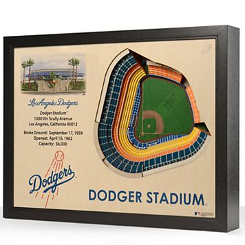 Los Angeles Dodgers StadiumViews 3D Wall Art
