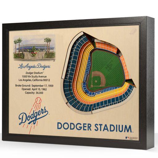 Los Angeles Dodgers StadiumViews 3D Wall Art