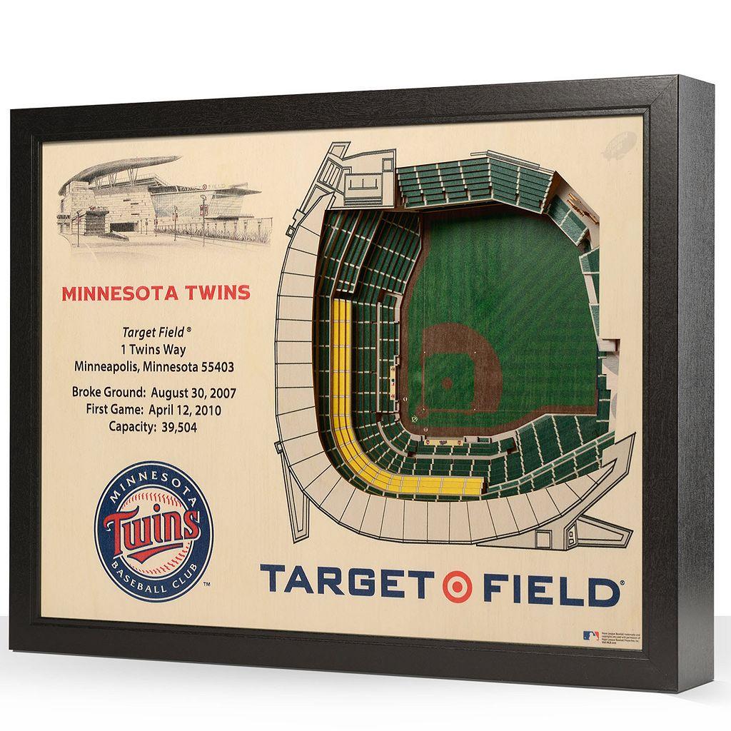 Minnesota Twins StadiumViews 3D Wall Art